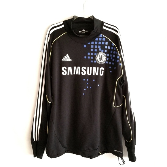 adidas Other - 🔥ADIDAS Chelsea FC TRAINING WARM UP JERSEY SOCCER d5491a25c